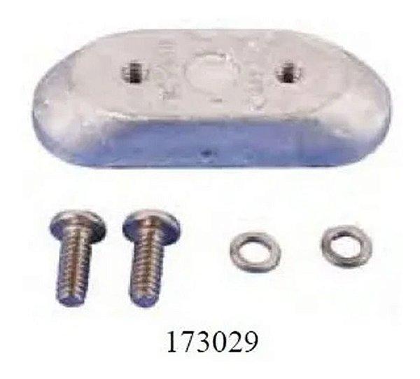 Anodo Do Motor Evinrude  173029 + Anodo Rabeta 436745