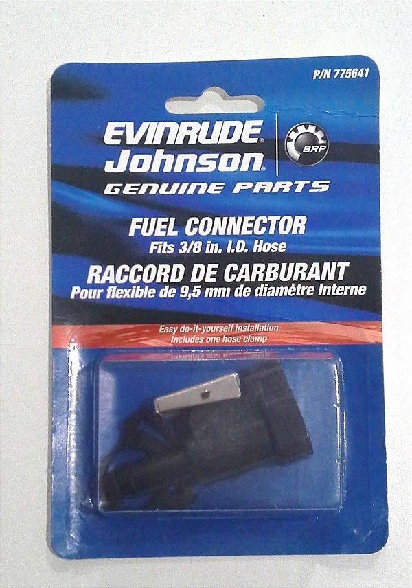 Conector De Combustível 3/8 - Original Evinrude Johnson