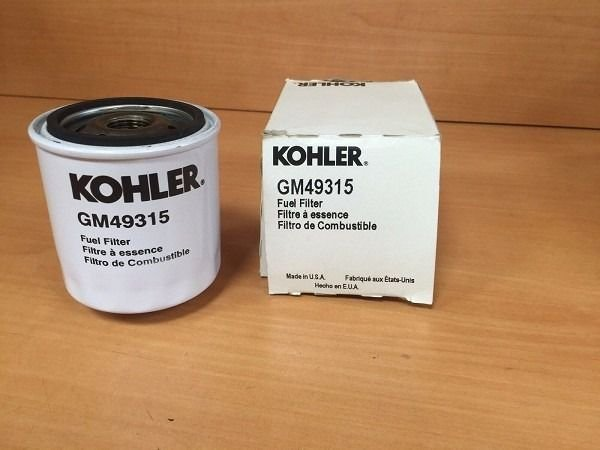 Filtro De Combustível Kohler Gm49315