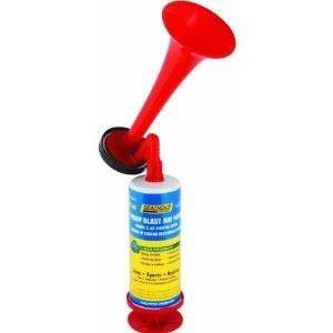 Buzina Corneta De Emergência C/ Bomba Manual Seachoice