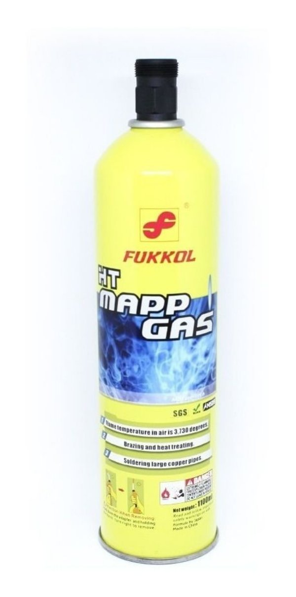 Cilindro De Gás Para Maçarico Ht Mapp Gas
