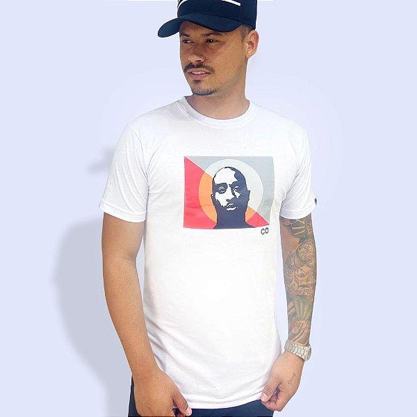 Camiseta Longline 2 Pac Branca - CO Oficial