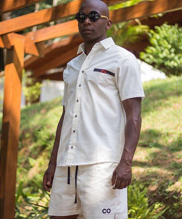 Camisa Faixa CO Off White - CO Oficial