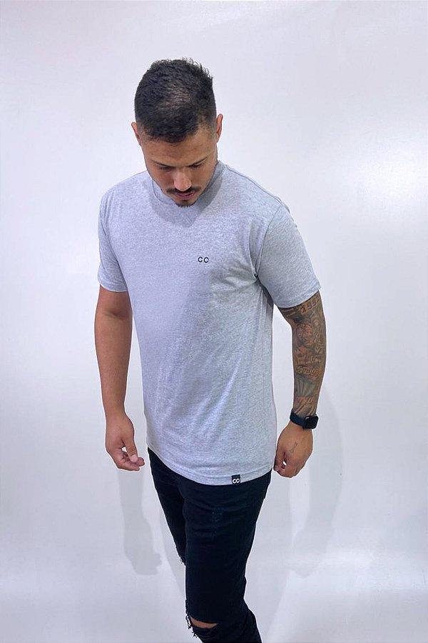 Camiseta BASIC CO Cinza - CO Oficial