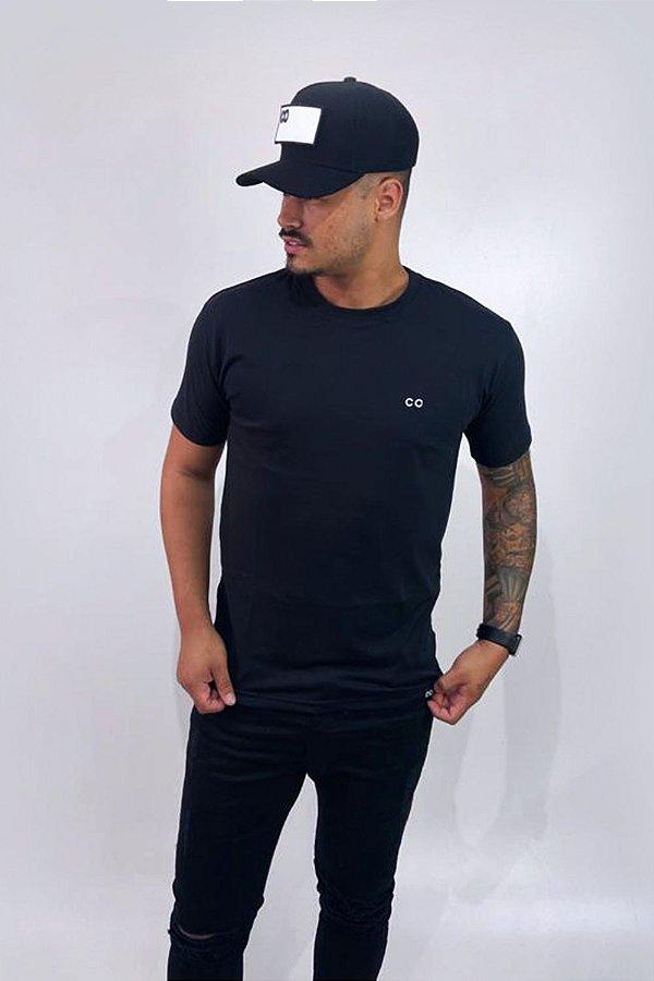 Camiseta BASIC CO Preta - CO Oficial
