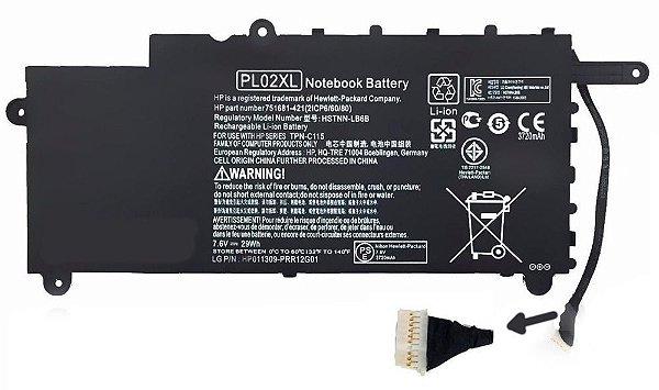 Bateria para Notebook Hp Pavilion X360 Pl02xl