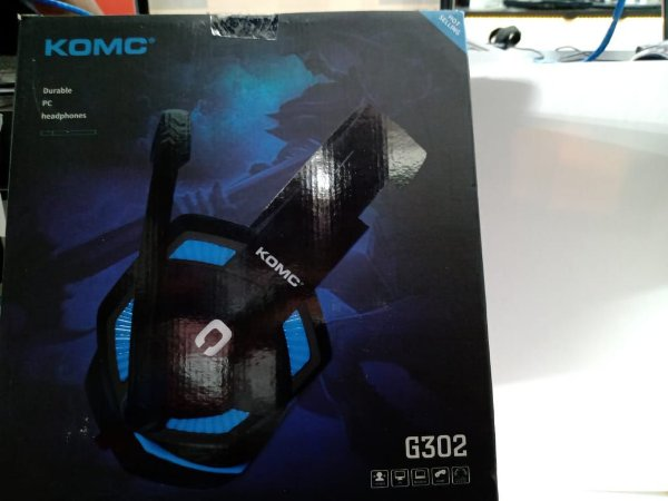 Fone Gamer Para Pc Komc G302