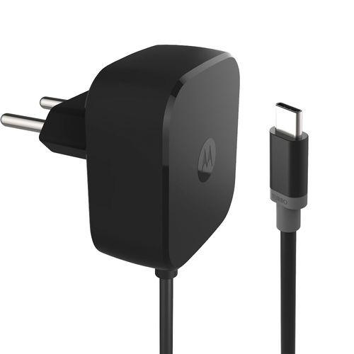 Carregador Motorola Turbo Power USB C Tipo C 30W - Carga Rápida