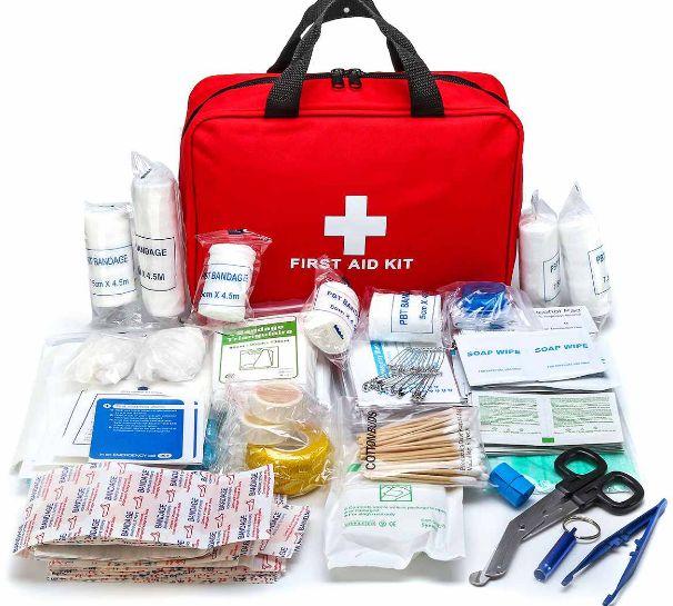 Kit Primeiros Socorros Completo