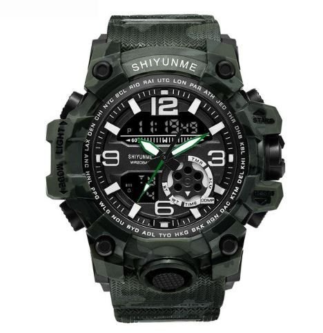 Relógio Camuflado Militar