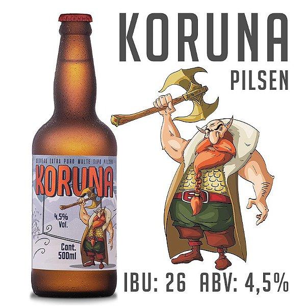 Cerveja Koruna - Pilsen - Garrafa 500 ML