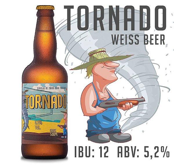 Cerveja Tornado - WeissBeer - Garrafa 500 ML