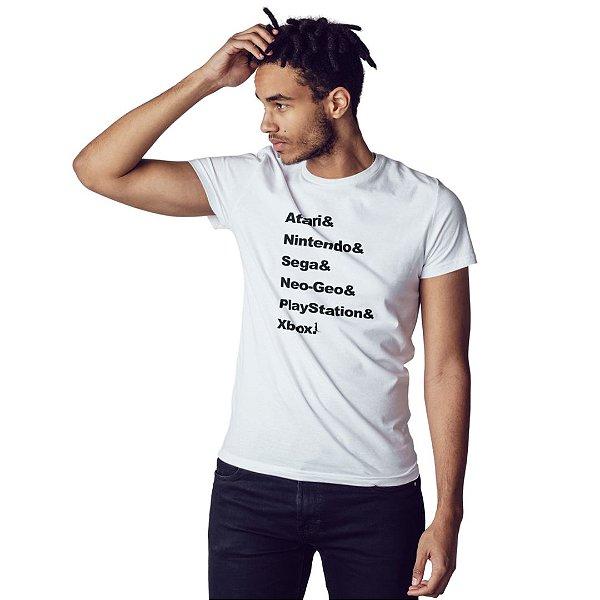 Camiseta Gerações de Gamers - Masculina