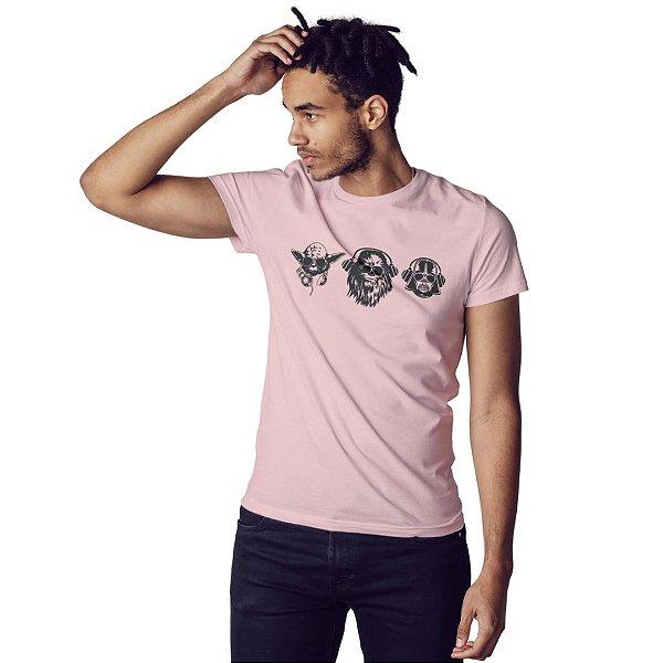 Camiseta Trio das Galáxias - Masculina