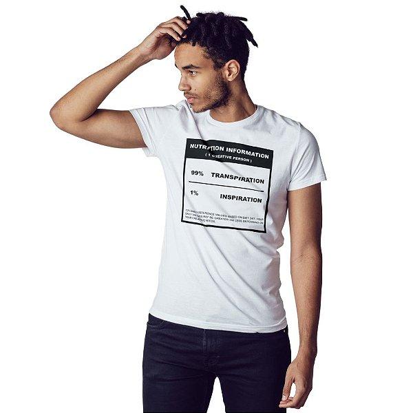 Camiseta 99% Transpiração 1% Inspiração - Masculina