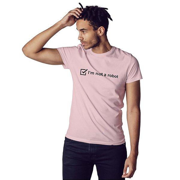 Camiseta I'm not a robot - Masculina
