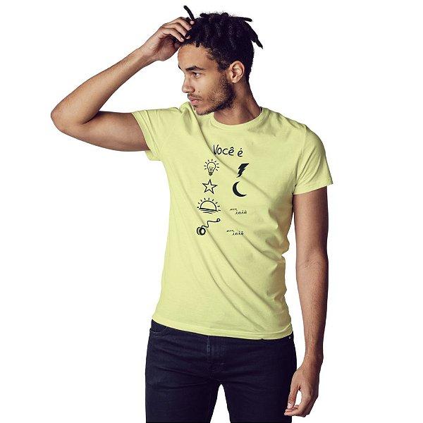 Camiseta Você é Luz - Masculina