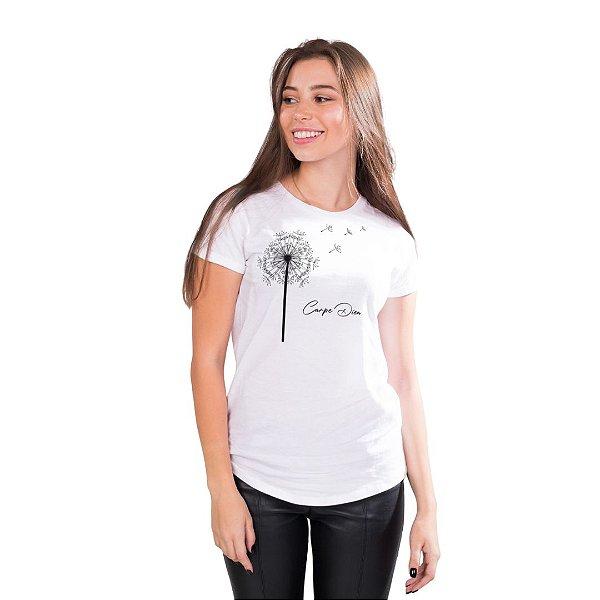 T-Shirt Dente-de-Leão Carpe Diem - Feminina