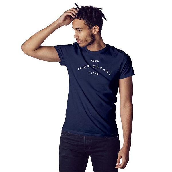 Camiseta Keep your dreams alive - Masculina