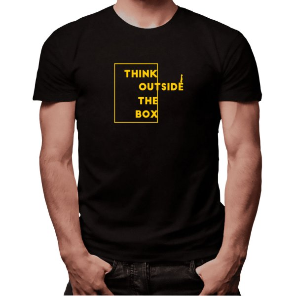 Camiseta Think Outside The Box - Masculina