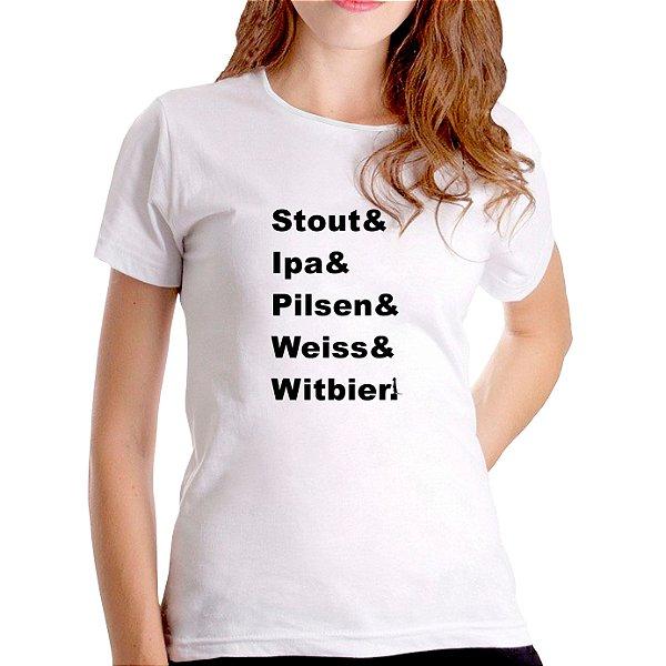T-Shirt Mestre Cervejeiro - Feminina