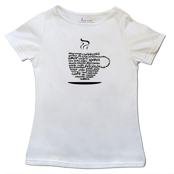T-Shirt Xícara da Positividade - Feminina