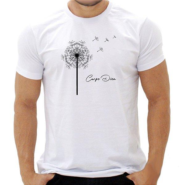 Camiseta Dente-de-Leão Carpe Diem - Masculina - PT+BR