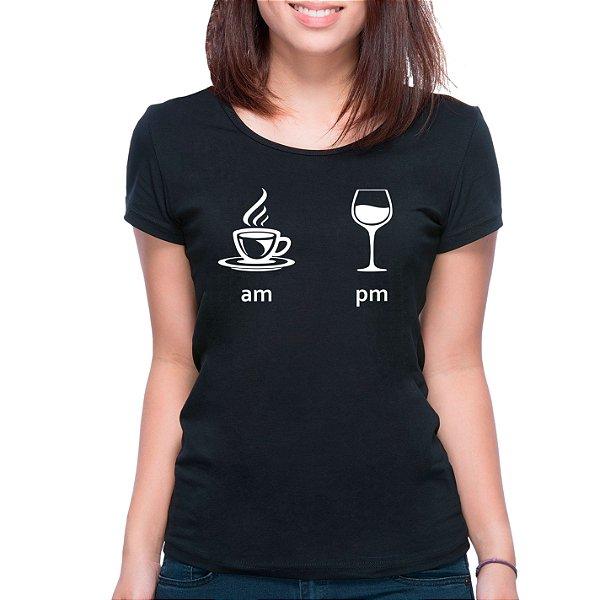 T-Shirt Am Pm - Feminina - PT+BR