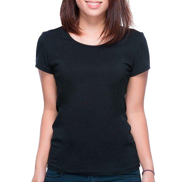 T-Shirt Minimalista Preta - Feminina