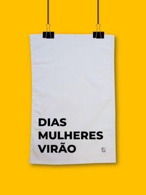 Pano de prato Dias Mulheres Virão