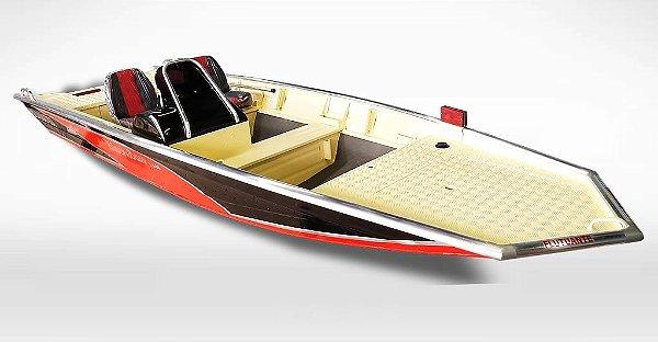 Barco Uai Black Bass 5.5 SS (com comando) indicação motor 25 a 40HP - Casco