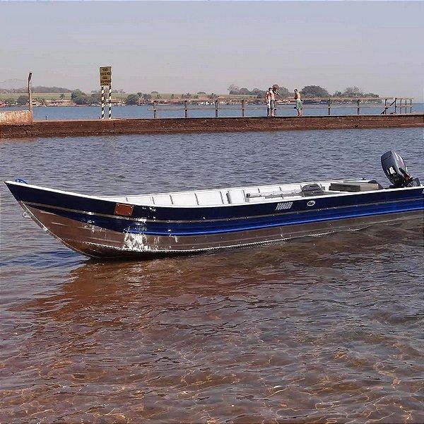 Barco de alumínio Martinelli Tornado 500 borda alta bico 5m