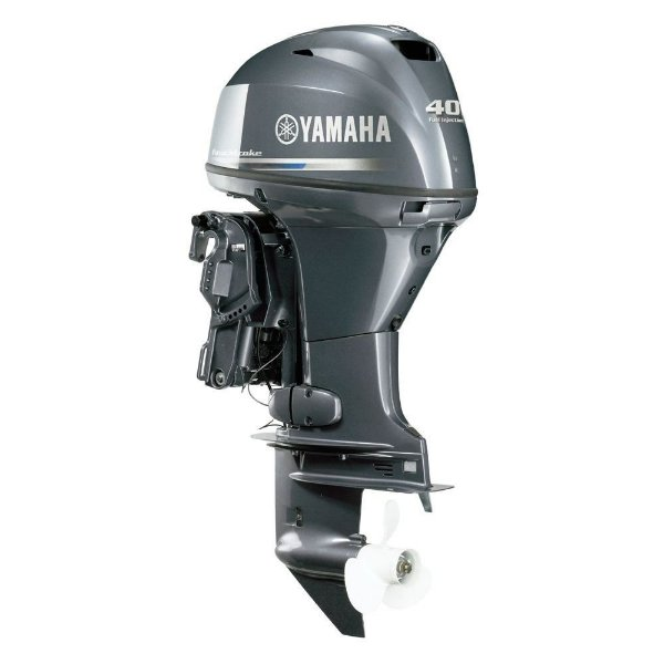 Motor de popa Yamaha F 40 4 Tempos - FETL - Elétrico com comando e POWER TRIM - 20 pol. Preço especial Produtor Rural e PJ