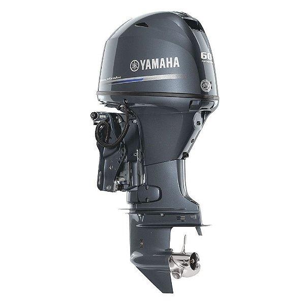 Motor de popa Yamaha F 60 4 Tempos - FETL EFI - Elétrico com comando Preço especial Produtor Rural e PJ