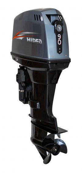 Motor de popa Hidea 90 HP 2T - manual - sem trim - Rab. 20 pol