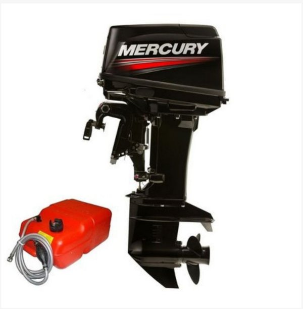 Motor de popa Mercury  50 HP ELPTO 2T - Comando e Power Trim - Preço pessoa física