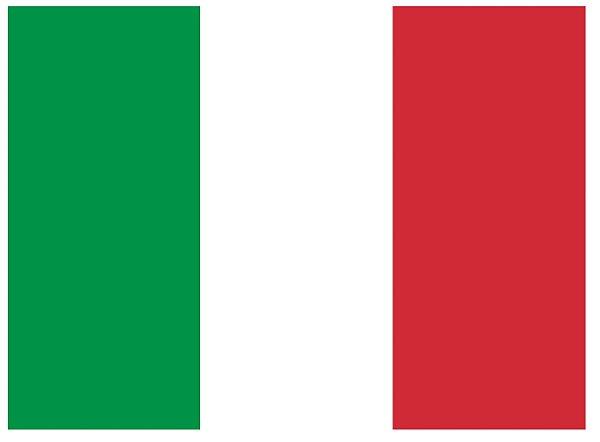 Bordado Bandeira da Itália