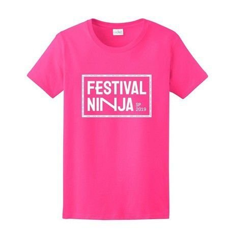 Camiseta Festival NINJA 2019 Baby Look