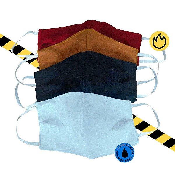 KIT Máscara reutilizável 100% algodão