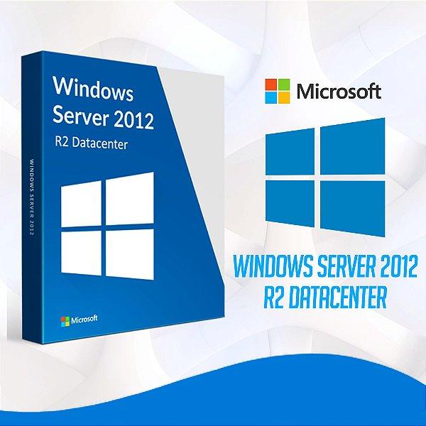 Windows Server 2012 R2 Datacenter - Licença Vitalícia + Nota Fiscal