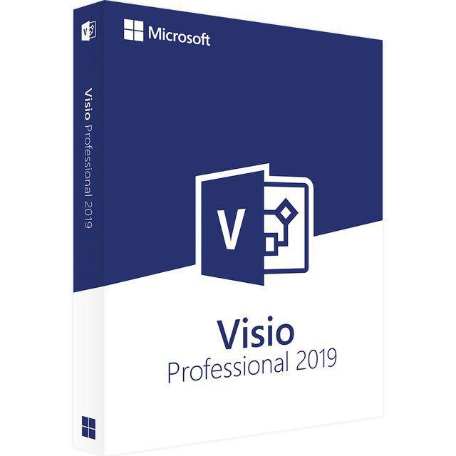 Visio 2019 Professional - 32/64 BITS - Licença Vitalícia + Nota Fiscal