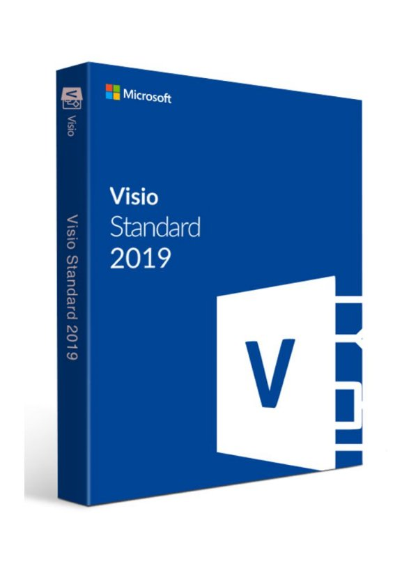 Visio 2019 Standard - 32/64 BITS - Licença Vitalícia + Nota Fiscal