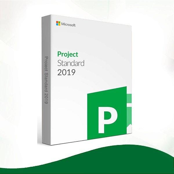 Project 2019 Standard- 32/64 BITS - Licença Vitalícia + Nota Fiscal