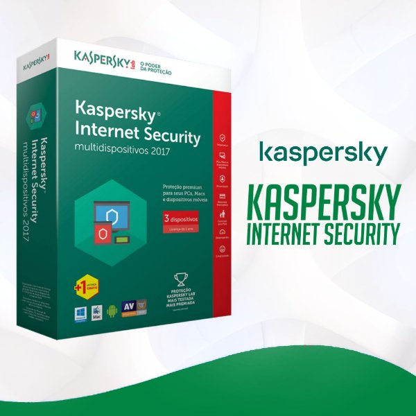 Kaspersky Internet Security 2021 - Licença Para 1 Dispositivo + Nota Fiscal