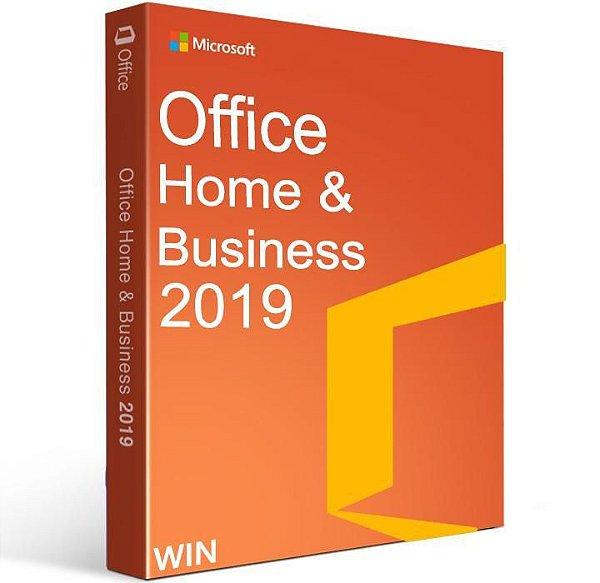 Office 2019 Home And Business - Licença Vitalícia + Nota Fiscal