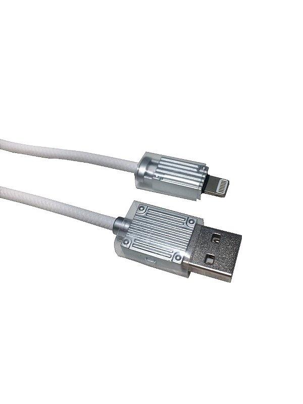 Cabo USB KLGO S12 iOS iPhone para Dados e Carregamento