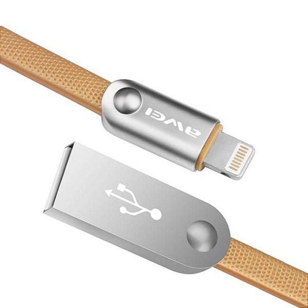 Cabo USB KLGO CL17 iOS iPhone para Dados e Carregamento