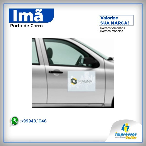 IMAS PARA PORTA DE CARRO VERNIZ UV TOTAL FRENTE 305X225MM (2un)