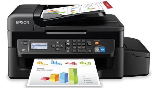 EPSON L575 ecotank Multifuncional completa com wifi e fax + 130ml de cada cor ( EXCLUSIVO )