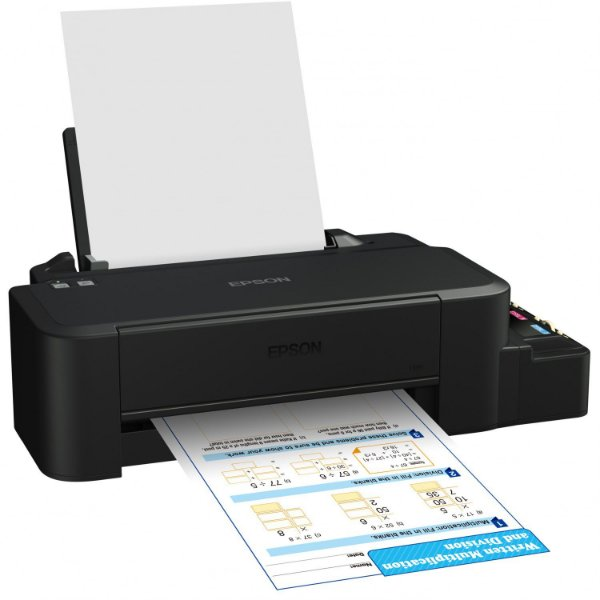 Impressora Epson L120 CORANTE + 4 frascos de tinta de 130ml